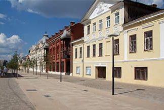 Пешеходная улица Металлистов, Тула.