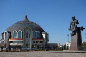 Музей оружия, памятник Никите Демидову. Тула
