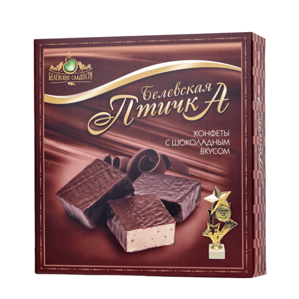 конфеты Белёвская птичка с шоколадным вкусом 300г