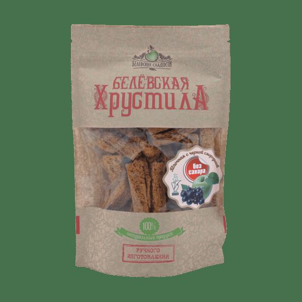 Белёвская хрустила с черной смородиной без сахара