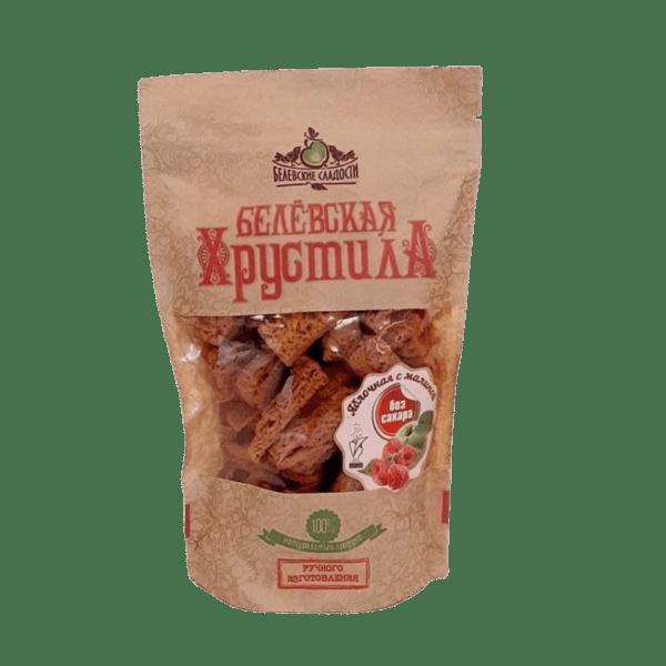 Белёвская хрустила с малиной без сахара