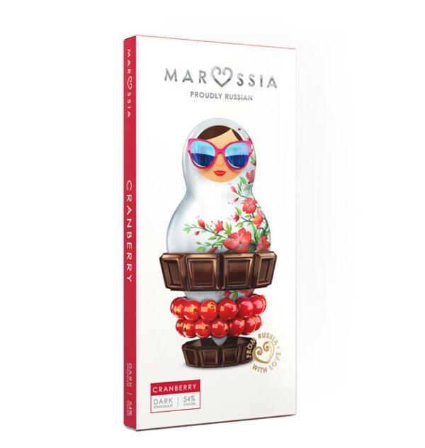 шоколад Маруся с матрёшкой клюква