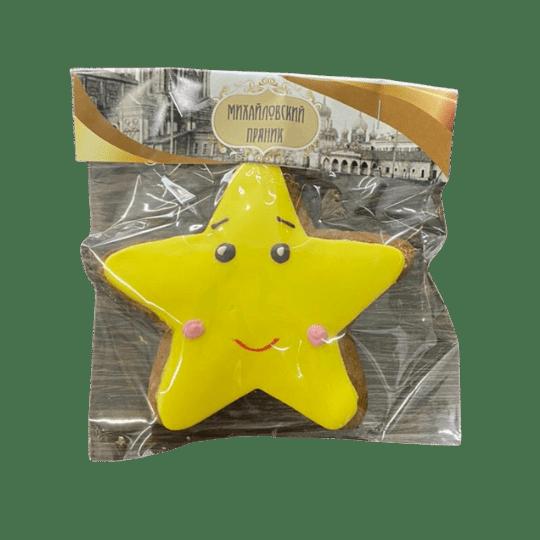Пряник имбирный морская звезда