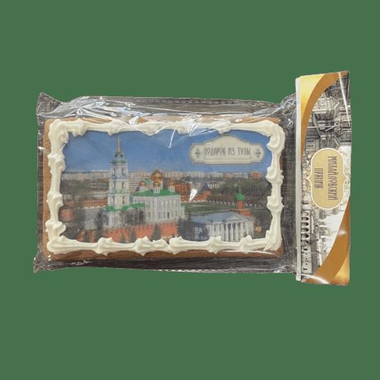 Пряник имбирный храм и колокольня в тульском кремле