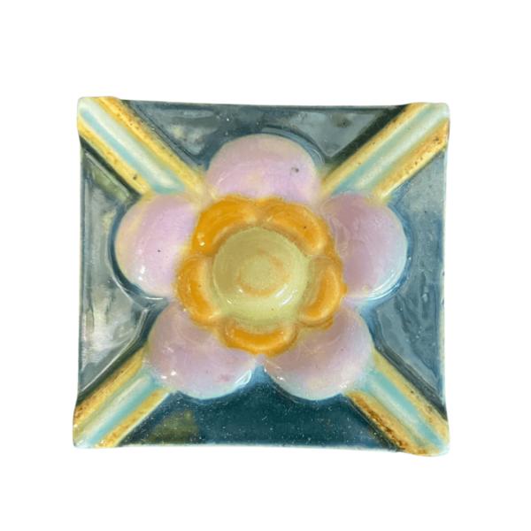 тульский изразец цветок 2