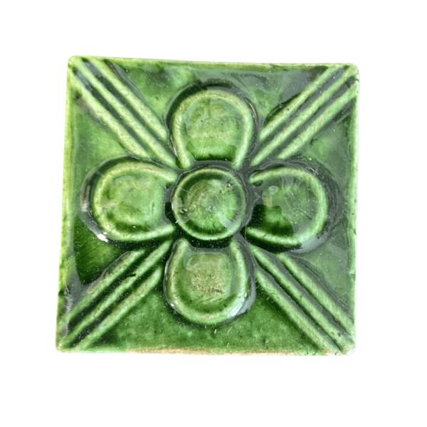 тульский изразец цветок 5