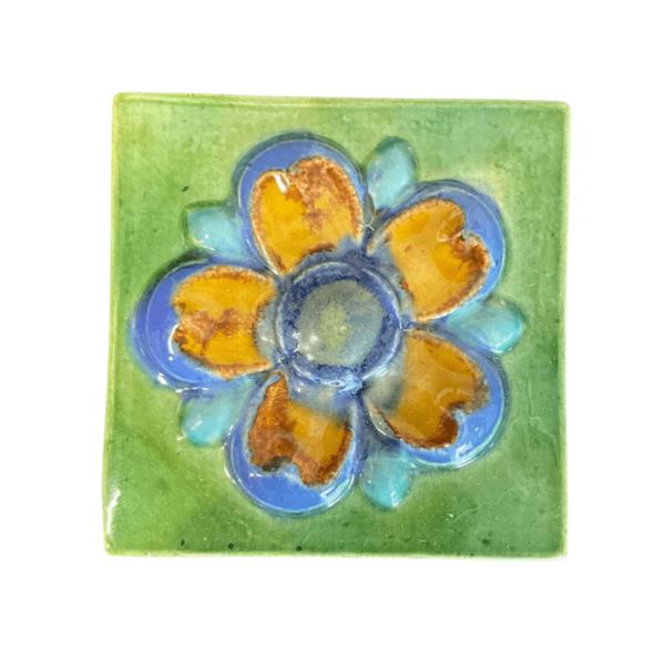 тульский изразец цветок