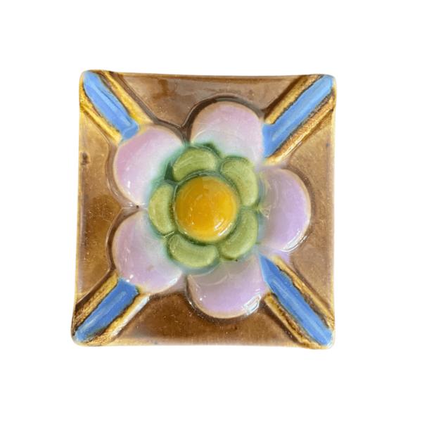 тульский изразец цветок 5х5 см 2