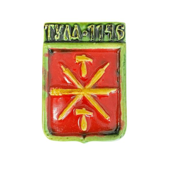 керамический магнит герб Тулы