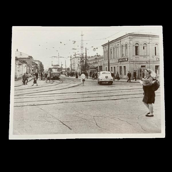 открытка город Тула 50-70 гг