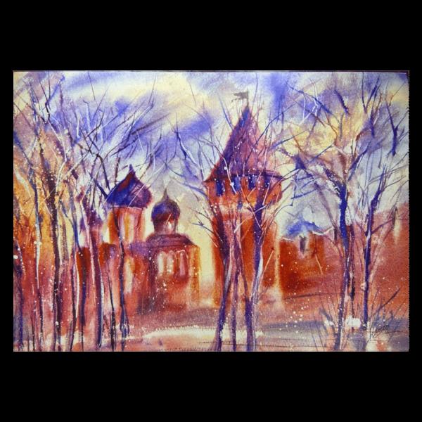 открытка тульский кремль башня успенский собор