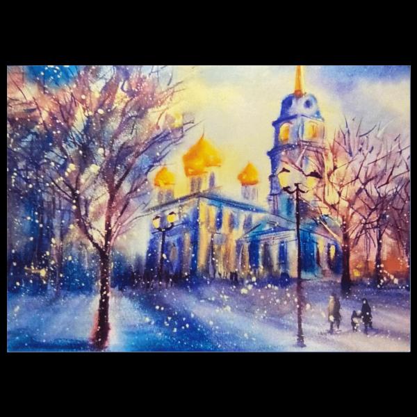открытка успенский собор тульского кремля