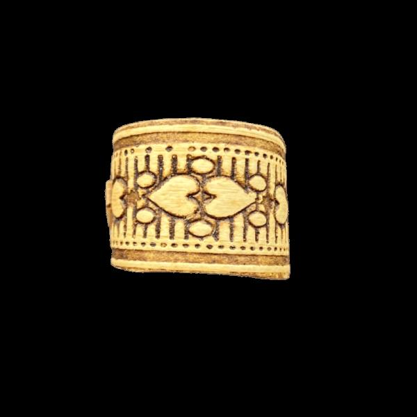 Кольцо из бересты с узором