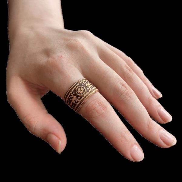 Кольцо из бересты